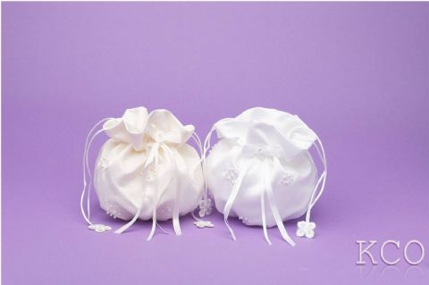 Dolly Bag Style M6017 White~ Special Occasion